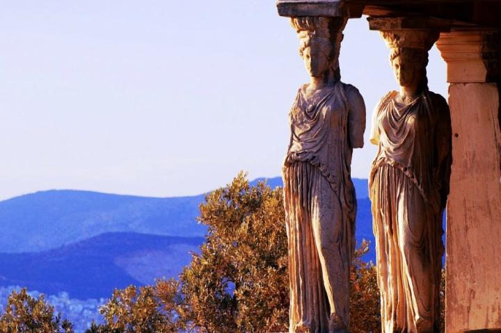 Detail of the Erechtheion (acropolis of Athens)