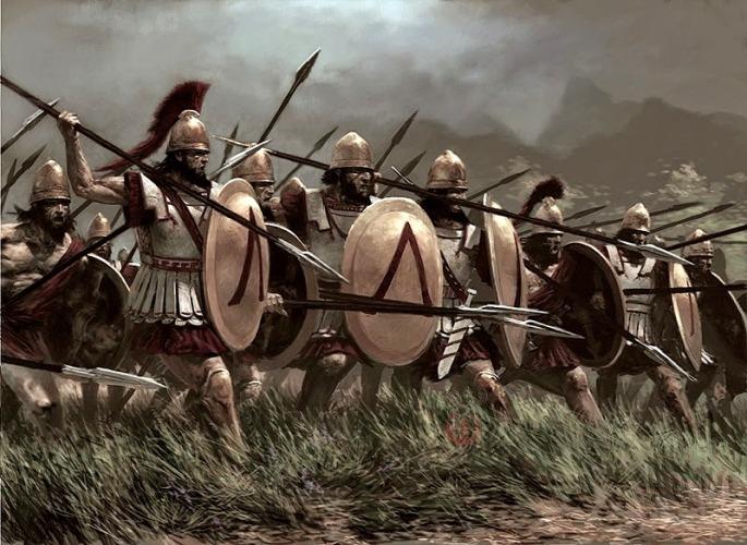 Spartan phalanx