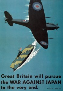 Poster issued by the Ministry of Information during WWII